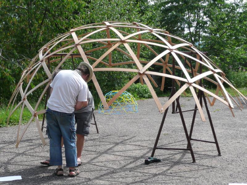 Geodätische Kuppel Selber Bauen martins netzwerkstatt » dome